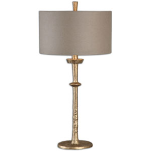 Heraclius Gold One-Light Table Lamp