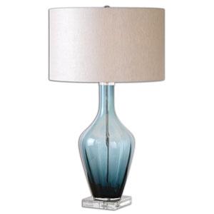 Hagano Blue One-Light Table Lamp