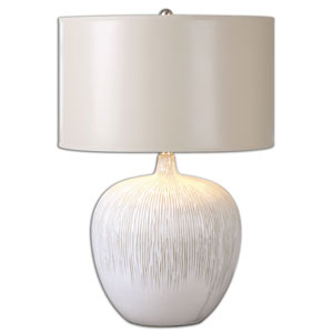 Georgios Textured Ceramic One-Light Table Lamp