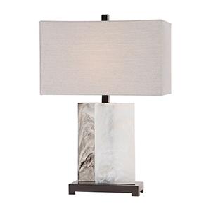 Vanda Stone One-Light Table Lamp