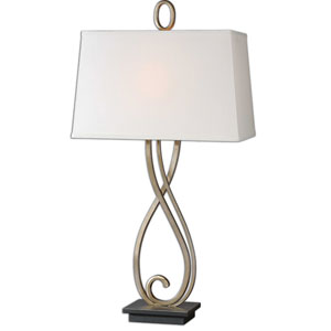 Ferndale Dark Bronze One-Light Metal Table Lamp