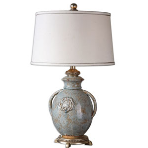 Cancello Ceramic One-Light Glaze Table Lamp