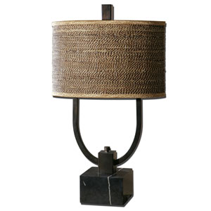 Stabina Rustic Bronze Table Lamp