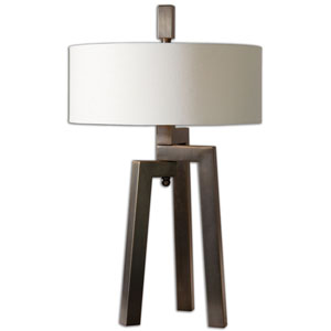Mondovi Antique Two-Light Table Lamp