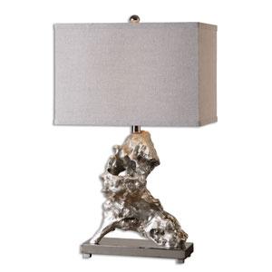 Rilletta Metallic Silver One-Light Table Lamp
