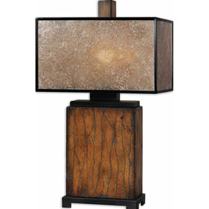 Sitka Wood One-Light Table Lamp