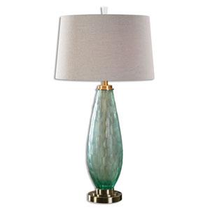 Lenado Sea Green Glass One-Light Table Lamp