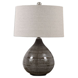 Batova Smoke Gray One-Light Table Lamp