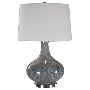 Celinda Blue Gray One-Light Table Lamp