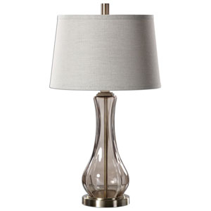 Cynthiana Smoke Gray One-Light Table Lamp