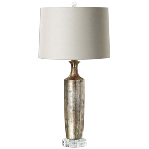 Valdieri Metallic Bronze One-Light Table Lamp