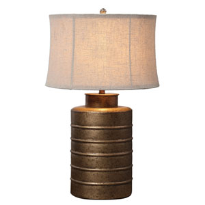 Bamiro Antique Gold One-Light Table Lamp