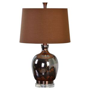 Lilas Metallic Rust Bronze One-Light Table Lamp