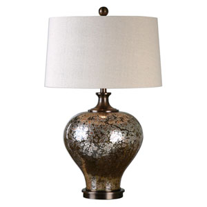 Liro Dark Bronze One-Light Table Lamp