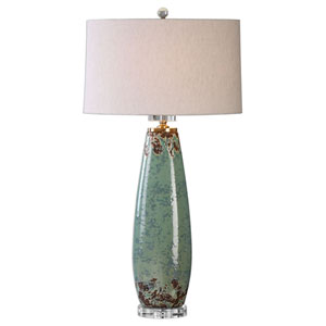 Rovasenda Pale Mint Green One-Light Table Lamp