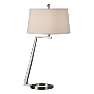 Ordino Brushed Nickel Lamp