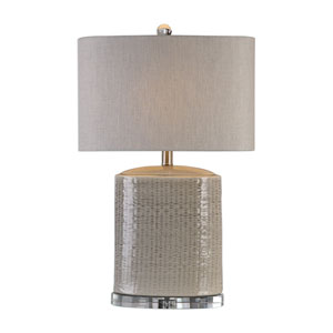 Modica Taupe Ceramic Lamp
