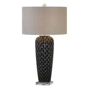 Patras Mocha Bronze Table Lamp