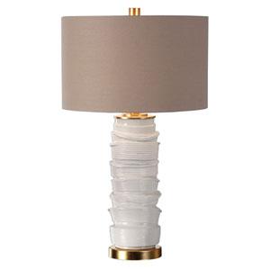 Codru Gloss White Ceramic Lamp
