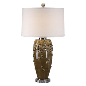 Zacapa Brown Ceramic Table Lamp