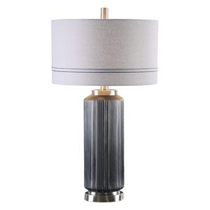 Akila Charcoal Glass Table Lamp