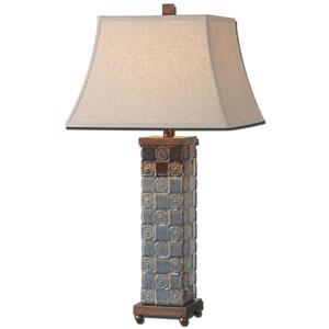 Mincio Dark Blue Table Lamp