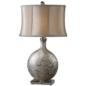 Silver Navelli Lamp