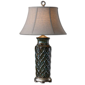 Blue Valenza Lamp