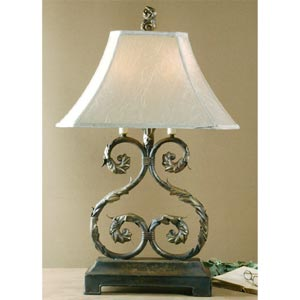 Demetrius Double Table Lamp