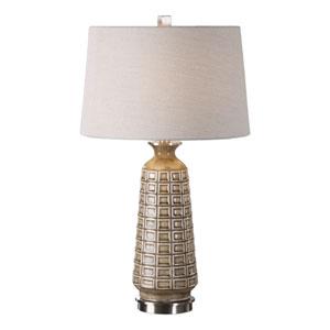 Belser Brown Glaze Table Lamp