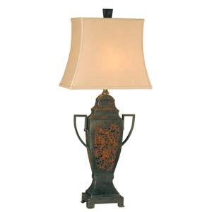 Varina Rust Table Lamp