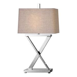 Xavier Nickel Table Lamp