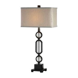 Jugovo Bronze and Crystal Lamp