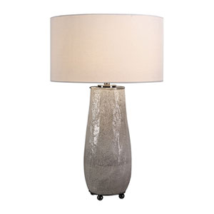 Balkana Aged Gray Table Lamp