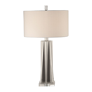 Trinculo Brushed Nickel One-Light Table Lamp