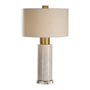 Vaeshon Concrete One-Light Table Lamp