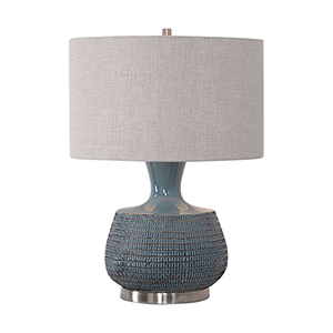 Hearst Blue One-Light Table Lamp