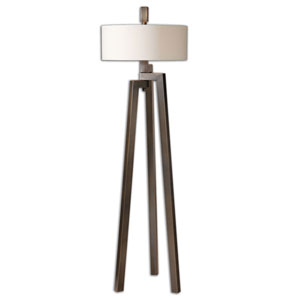 Mondovi Brushed Bronze Two-Light Floor Lamp