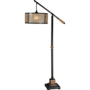 Sitka Solid Wood One-Light Floor Lamp