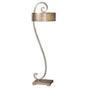 Dalou Silver Champagne Two-Light Floor Lamp