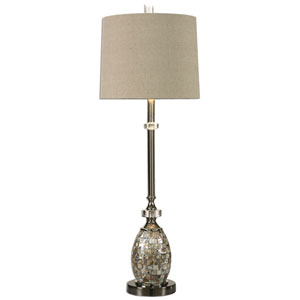 Ceredano Multicolor Capiz Shell One-Light Buffet Lamp