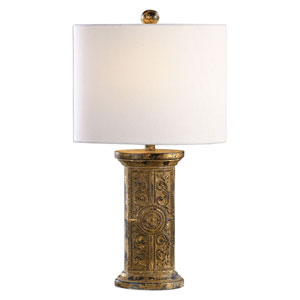 Latina Antique Gold Lamp