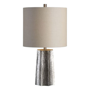 Candor Metallic Silver Lamp