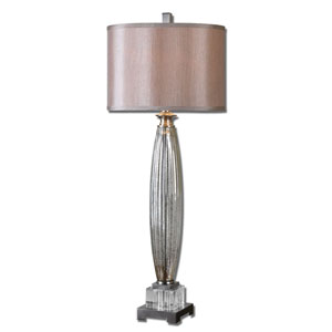 Loredo Brushed Nickel One-Light Buffet Lamp