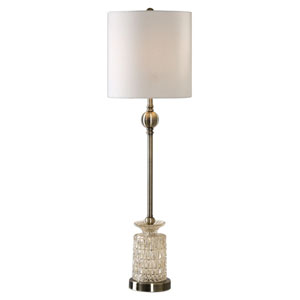 Flaviana Antique Brass Buffet Lamp
