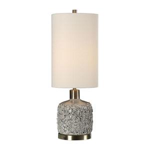 Privola Gray Ceramic Lamp