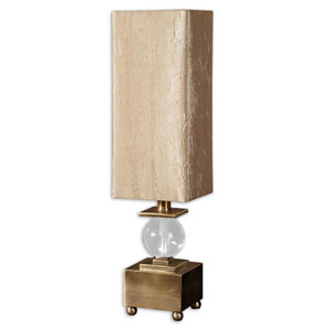 Ilaria Coffee Bronze One-Light Accent Lamp