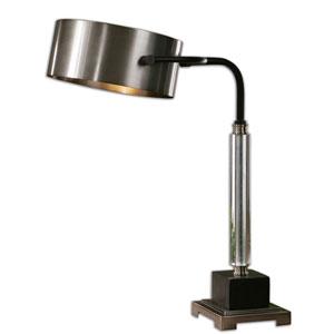 Belding Antique Brushed Aluminum One-Light Desk Lamp