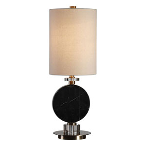 Morena Black Marble Lamp