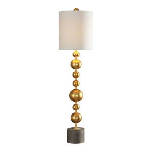 Selim Gold Buffet Lamp